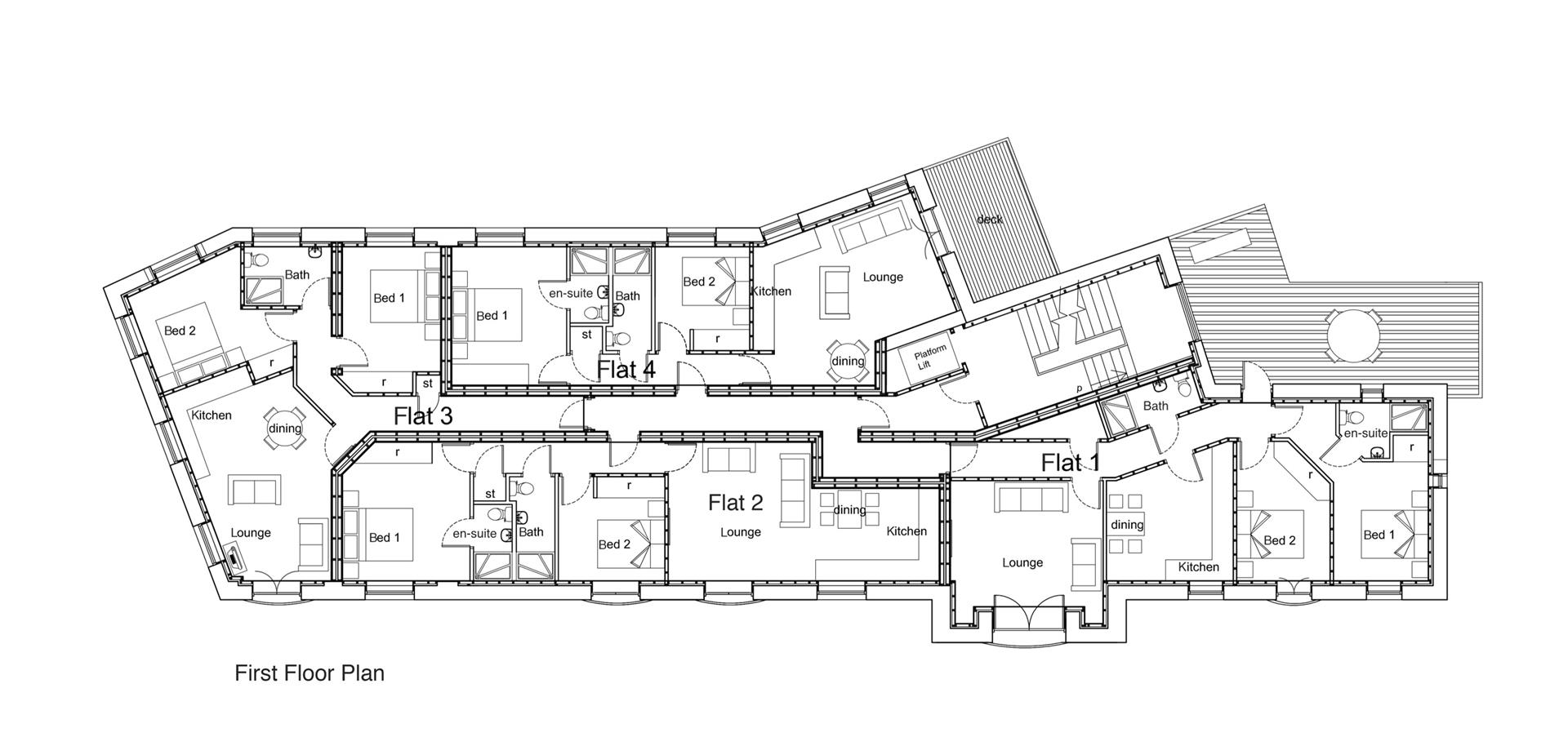 2 bedroom apartment To Let in Earby - First floor layout.jpg